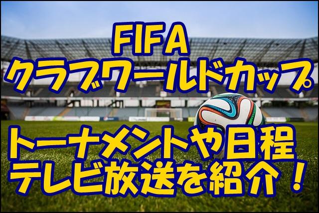 ワールド カップ 放送 クラブ クラブワールドカップ放送「さんまいらない」に一票だけど・・・